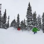 Powder day at Loveland Ski Area.  Photo by Dustin Schaefer