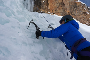 ice climb - for beginners