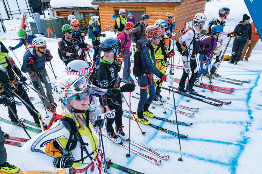 2016 Big Sky Ski Resort Shedhorn Skimo Race