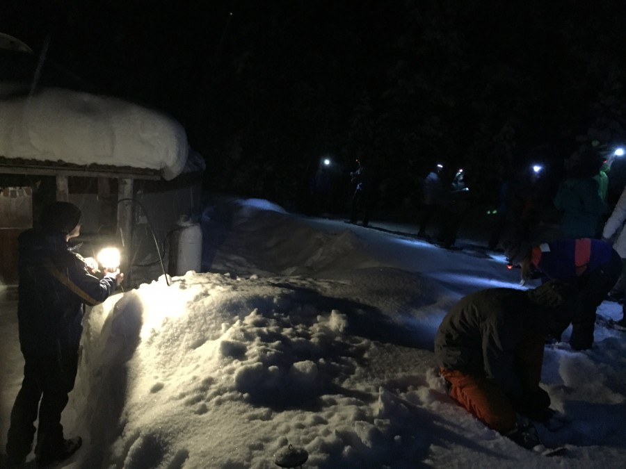 Snowshoe to Solitude Yurt