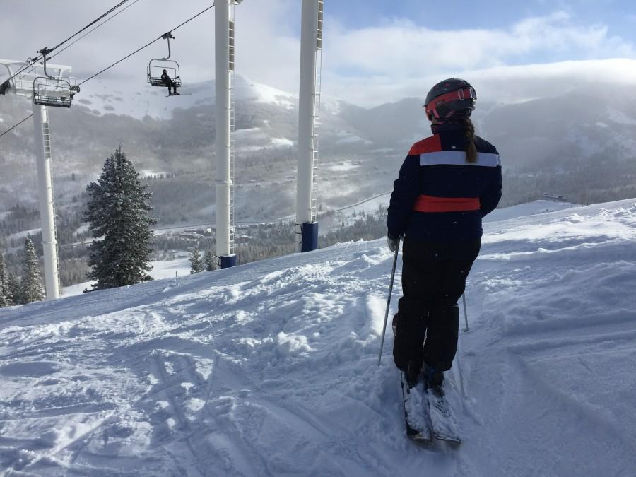 Ski Solitude by Kim Fuller.
