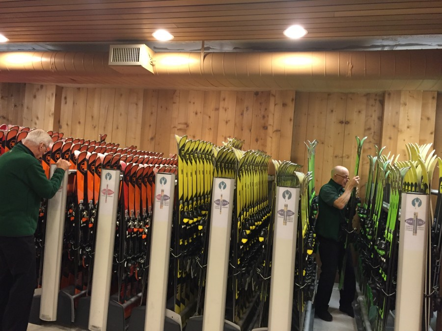 Ski Rentals at Deer Valley by Kim Fuller.