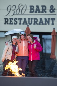 Crested Butte's friendly and welcoming attitude is contagious on and off the slopes. Photo by Lydia Stern.