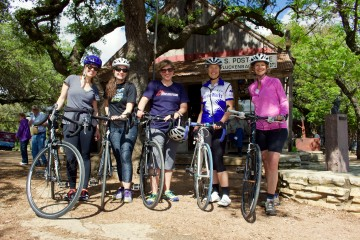 Cycling and honky tonks in Texas Hill Country