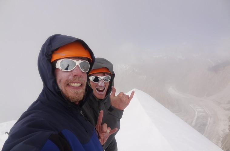 Hayden Kennedy and Kyle Dempster, AAC Alpina Cutting Edge Award Winners