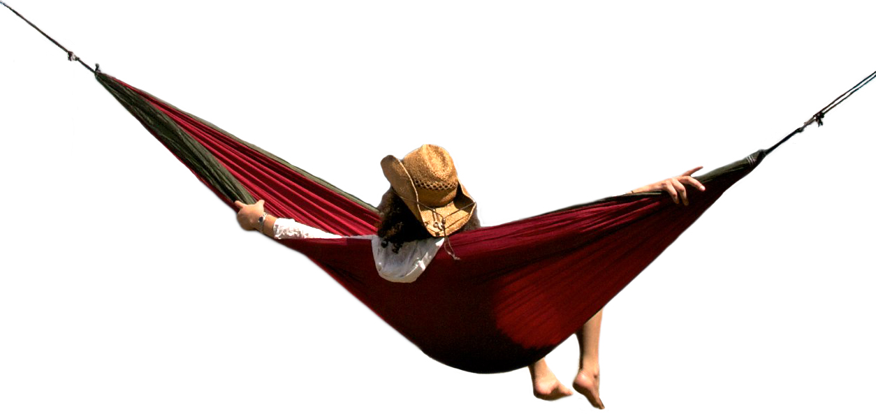 Down N Dirty Trek Light Double Hammock Elevation
