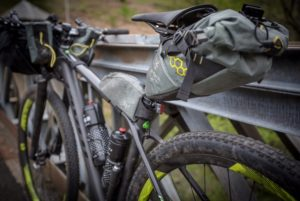 Mike Hall's bike, Tour Divide