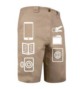 SCOTTeVEST Hidden Cargo Shorts
