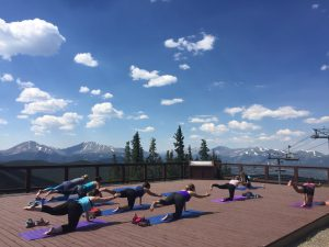 Mountaintop Yoga at Keystone