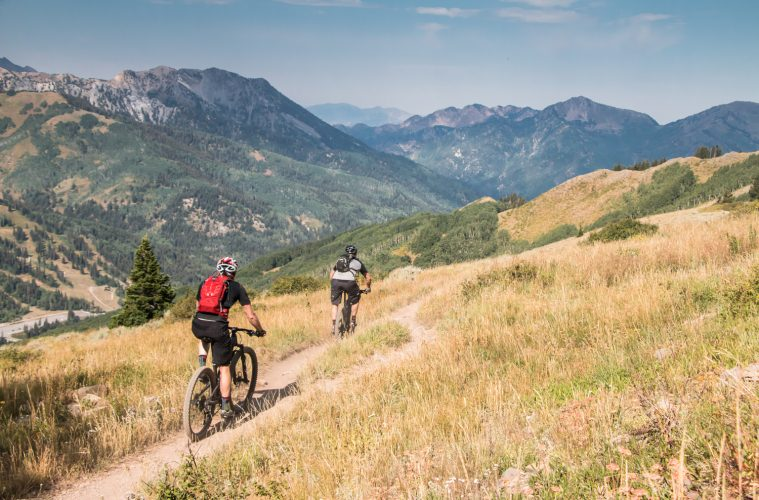 Park City Singletrack. Courtesy of Steve Mokan Photography.