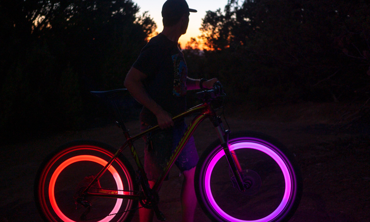 N//A Disc-O Select Nite Ize SpokeLit LED Wheel Light