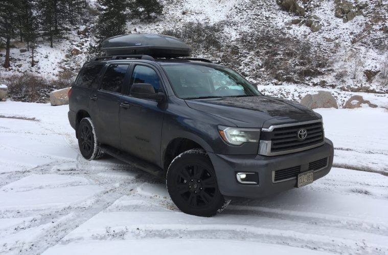 Road Trip 2019 Toyota Sequoia Trd Sport Review Elevation