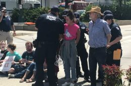 know your rights Police arrest anti-ICE protestors in new york city in august.
