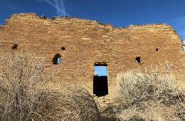 Chaco Canyon ancient ruins