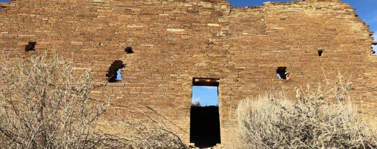 Chaco Canyon ancient ruins